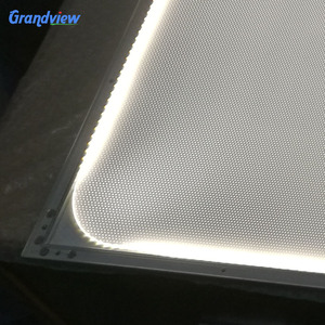 frameless Dot matrix printed acrylic LED Light Guide plate