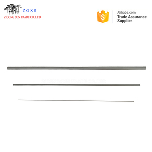 YG6X ZK30UF 330mm long extruded tungsten carbide rods blanks/round bars extrusion carbide rods