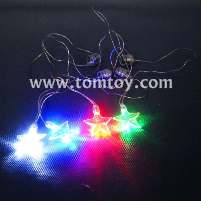 2018 LED String Necklace With Round Pendant