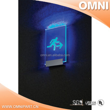 2016 Best selling and new design led moving message display sign