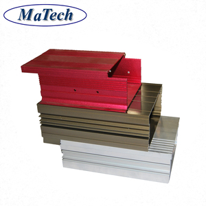 Customized 6000 Series Extruded Aluminum Profile Drawer Slides
