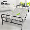 Wholesale Cheap Price Portable Metal Steel Extra Single Sun Lounger Wooden Folding Bed