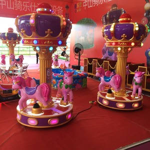 3 Seats Kids mini ride Musical Merry Go Round carousel/carrousel rides