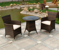 Foshan shunde furniture,wicker dining sets,breakfast table chairs MD-6461