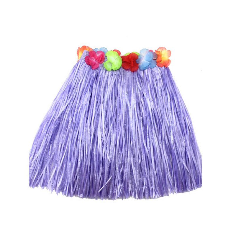 2016 Hot Cheerleaders Skirts For Kid Child Girl Flower Hula Grass Skirt font b Fancy b