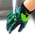 RIGWARL Men Skeleton Bones Design Warm Cycling Gloves Full Finger Touch Screen Windproof Waterproof MTB Sports