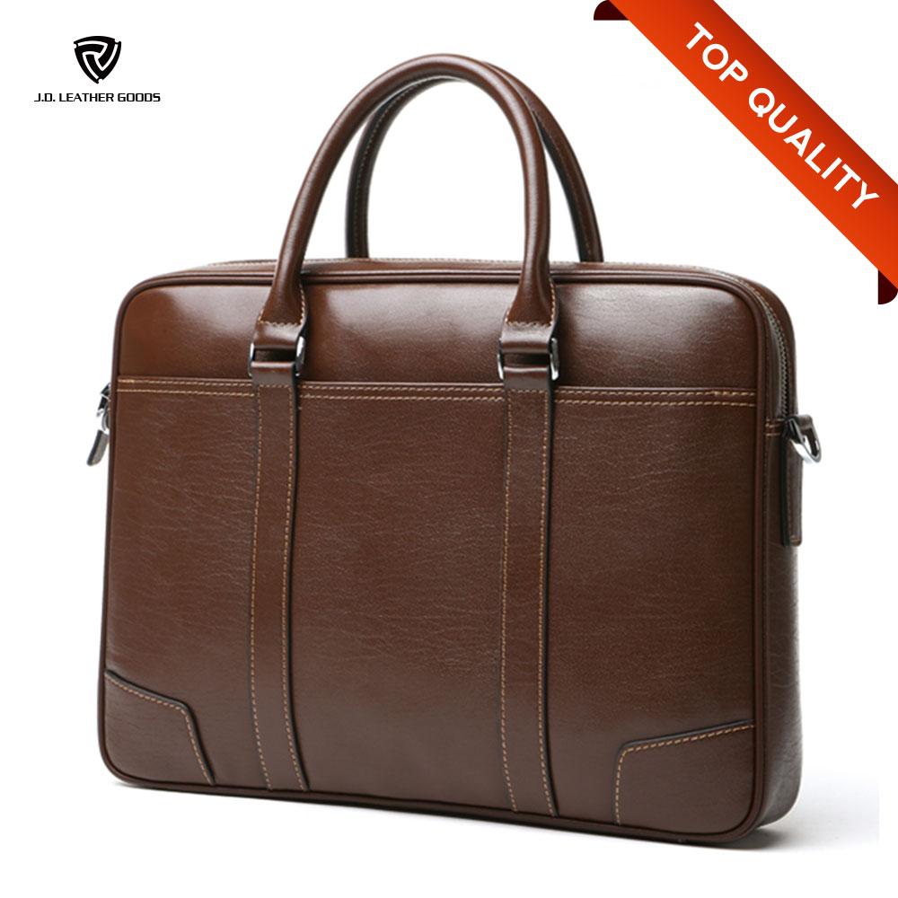Bag Executive Leather Briefcase Men