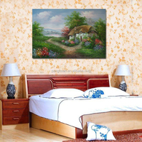 Hand Painted Landscape Oil Paintings Modern Abstract Scenerey Pictures Home Decor Hang Paintings Wall Art Picture