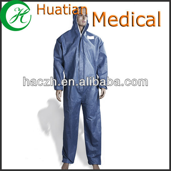 Washable 100% Cotton Flame Retardant Protective Coverall for Welder Boilor