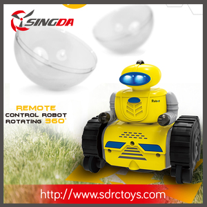 Singdatoys New Arrived 2.4Ghz RC Ball Robot Sspherical Robot For Kids