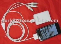 Component AV Cable for iphone 3G (New)