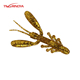 Tsurinoya Shrimp Soft fishing lure R19-A Wrom Bait 51mm 1.6g 10pcs/bags For Bass Fish