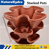 Hydroponic Hanging pots outdoor stacking planter stacking basket