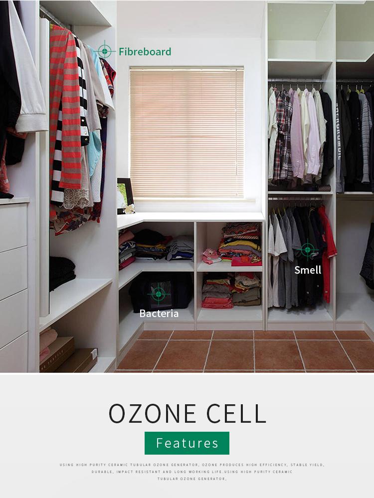 Casa acqua potabile sterilizzatore dell'ozono 3g generatore di ozono portatile con pietra dell'aria