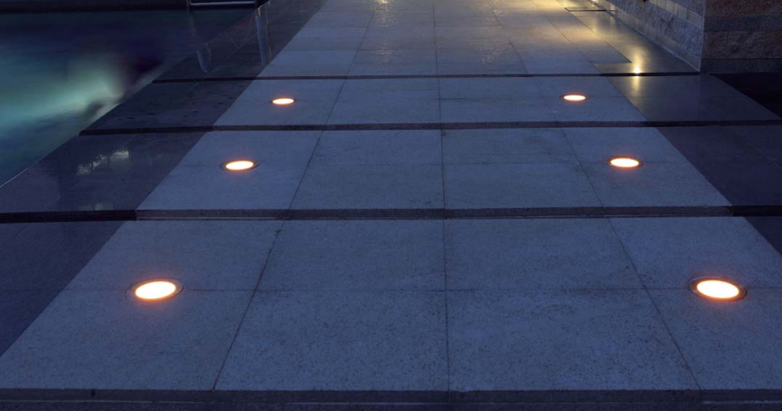 Ip68 3w Led Lights Floor Mounted Outdoor Led Ground Buried