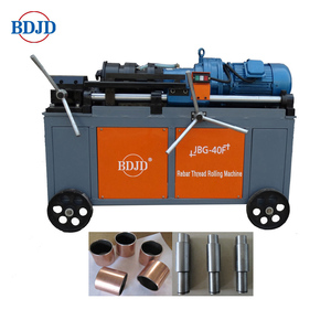 Easy-to-use rebar thread rolling machine Thread roll knurling machine