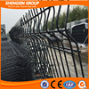 green vinyl coated welded wire mesh fence /pvc coated welded wire mesh fencing