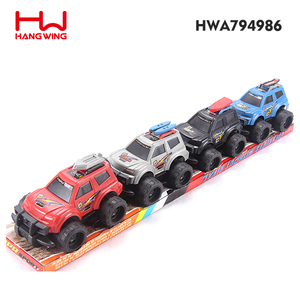 New product 4 color novelty friction power car toys