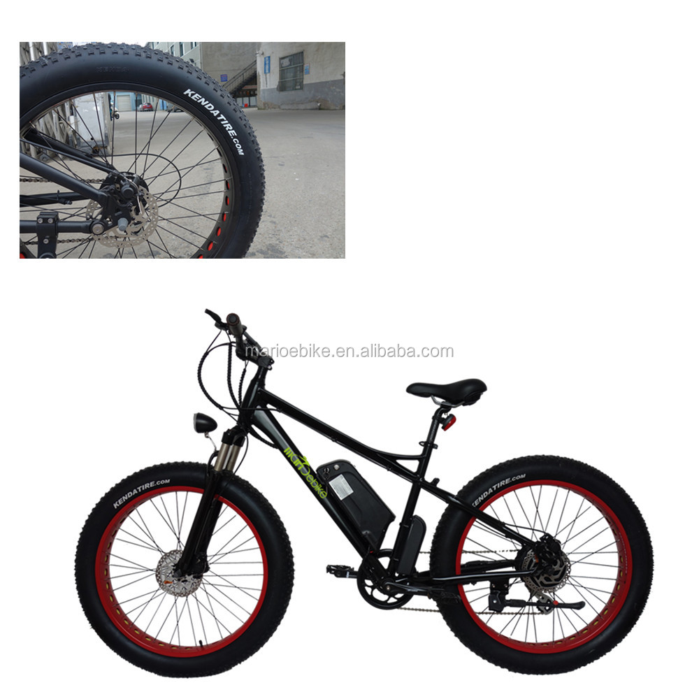 2017 wholesale mountain fat electric bicycle no folding e bike kit part ebike china to europe door to door service