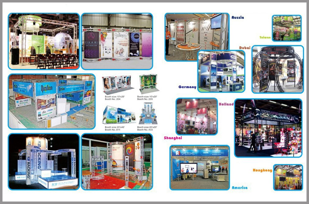 Portable Exhibition Stands Dubai : Portable exhibition stand modular truss trade show expo stand