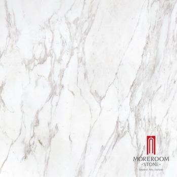 Favorit Qualität Italien Volakas Weißen Marmorboden Design Heißer Verkauf NZ42