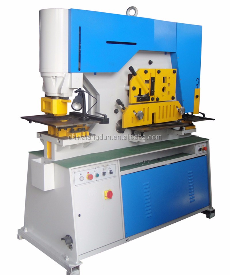 China Q35Y forging hammers machine , hydraulic iron worker , hydraulic press double