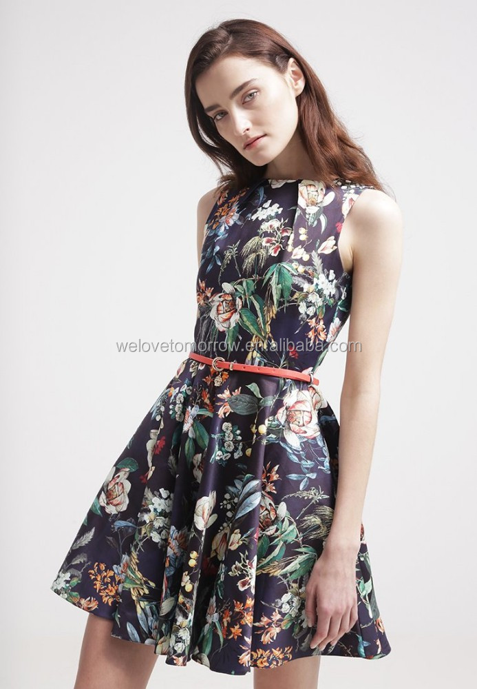 6d47ce9f6a New Arrival Summer Ladies Smart Casual Dress Factory With High  Quality