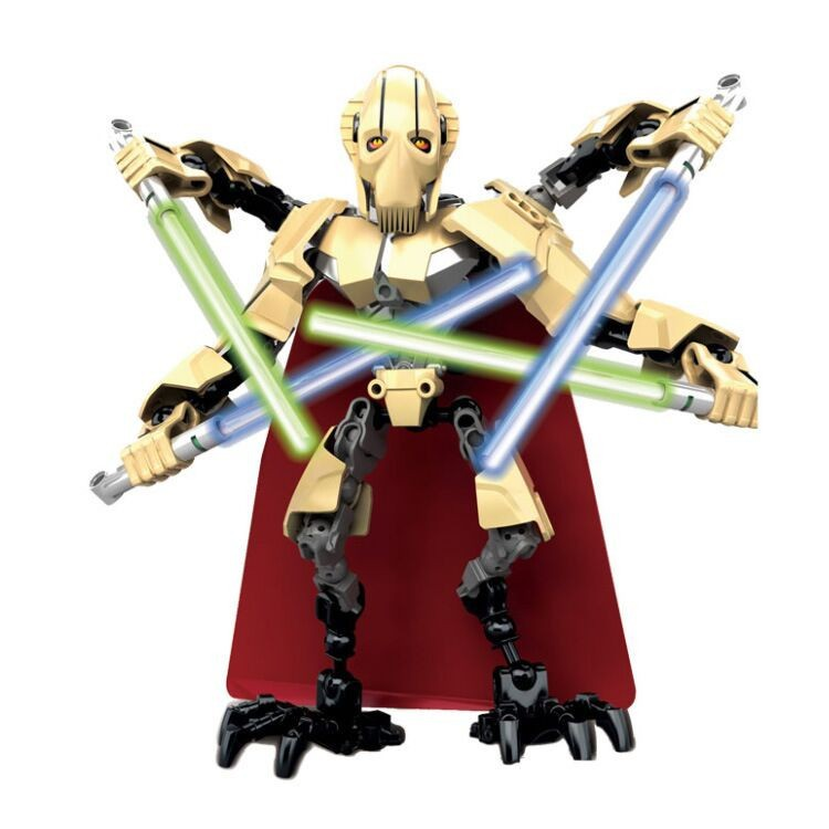 UKLEGO 2017 Limited Edition Star Wars Battle Droid General Grievous Building Blocks Toy