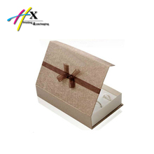 Luxury Cardboard Gift Paper Jewelry Packaging Box with Magnetic lid