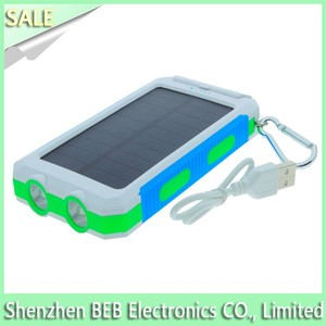 8000mah solar power battery charger for iphone 5 iphone 6s solar charger