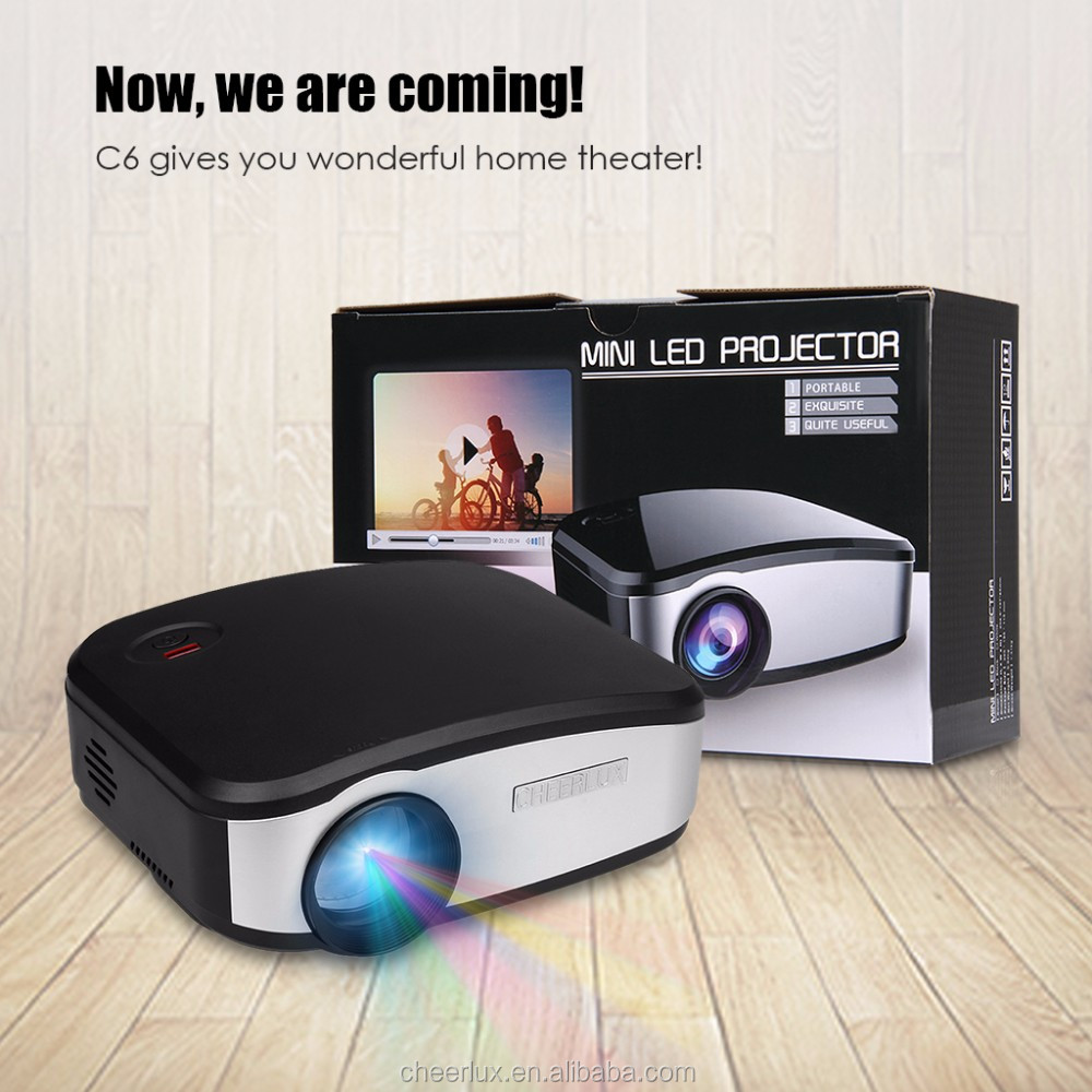 cheerlux promotion!shen zhen shi <strong>projector</strong> mini <strong>projector</strong> for home use support 720p 1080p 3d HD android wifi <strong>projector</strong>