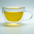 China supplier hot sale clear 120ml glass tea cup