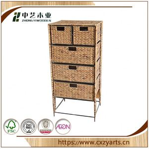 brand new china factory jewelry display small wooden cabinet with many drawers