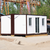 Insulated Small Lamp removable folding container house with steel frame