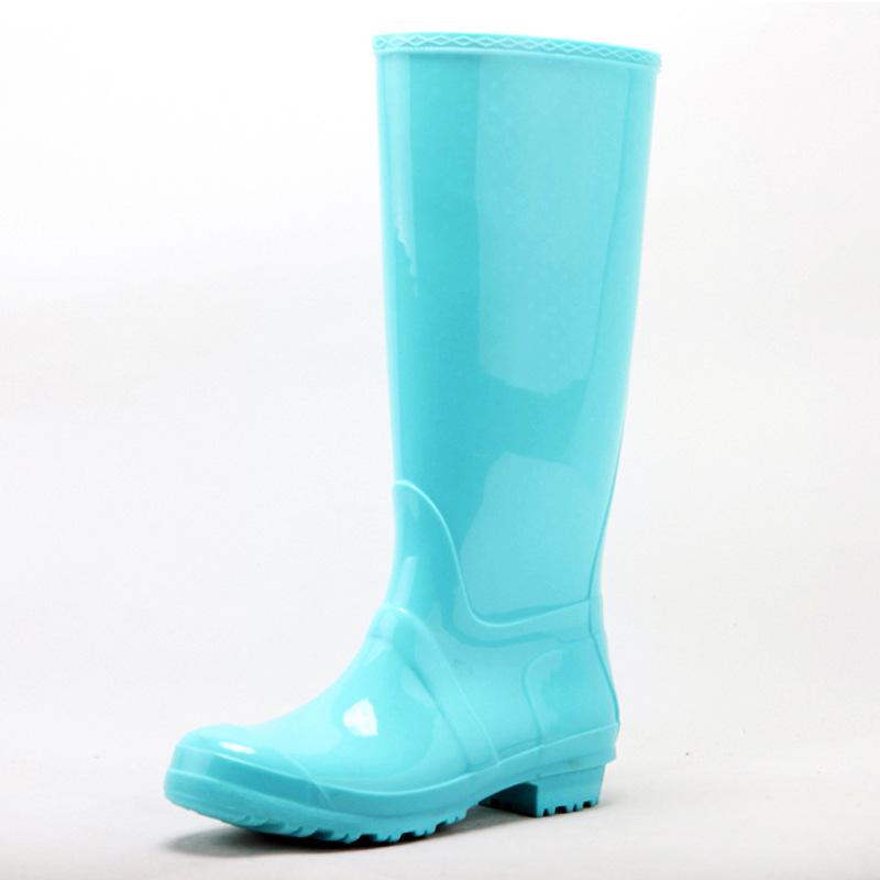 75b7b32e09b4 Get Quotations · 2015 Popular women PVC rain boots name brand rain boots  fashion rain boots for ladies