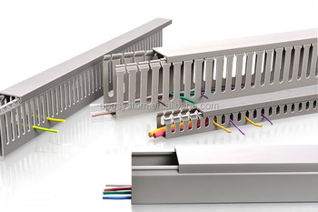 Low Smoke Zero Halogen Cable Trunking Wiring Duct Cable