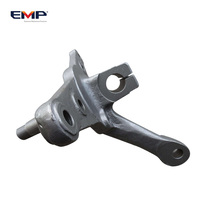 Custom Made OEM Forged Carbon Steel Car Steering Knuckle For Auto Spare Parts