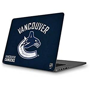 NHL Vancouver Canucks MacBook Pro 13 (2013-15 Retina Display) Skin - Vancouver Canucks Distressed Vinyl Decal Skin For Your MacBook Pro 13 (2013-15 Retina Display)