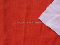 High Quality slub fabric with knit fabric price, 100% polyester fabric roll