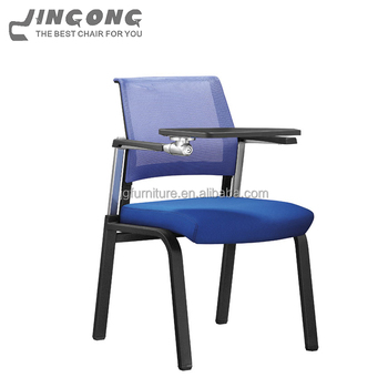 Top Sale Writing Table Chair, Training Chairs With Tables Attached