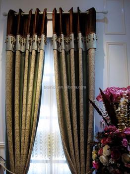Medusa Style Salon Coloré Rideaux/de Luxe Broderie Élégant Chambre ...