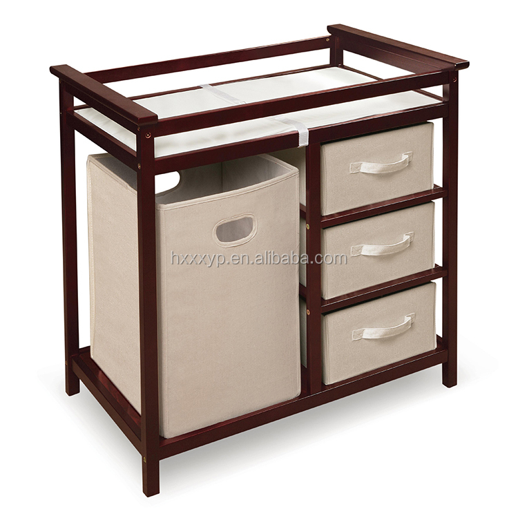Chinese Reproduction Bedroom White Storage Ottoman Wood Furniture