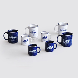 ceramic straight enamel mugs, best selling products, ceramic enamel cup