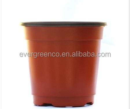 cheap price terracotta plastic nursery flower pots for gardening nursery seedling
