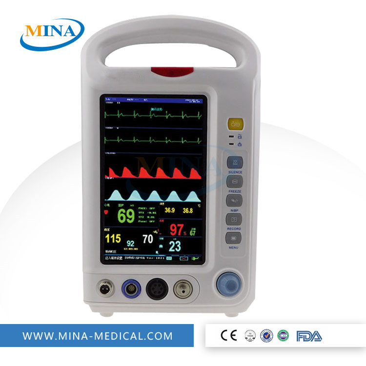 MINA-PM007 Portable & cheap mindray patient monitor price