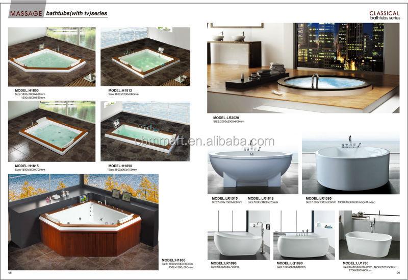 Ванна с отдельным входом душевой гидромассажной ванной для пожилых Bathtub 4.jpg