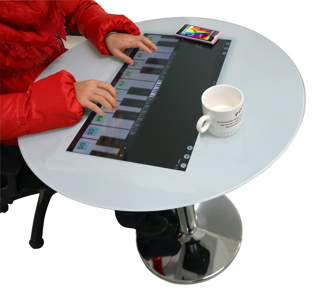 Wintouch Best quality new products touch screen ad lcd all in one desk