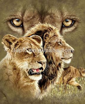 dangerous lion images  Very Hot Selling Natural Dangerous Lion 3d Picture Animal - Buy 3d ...