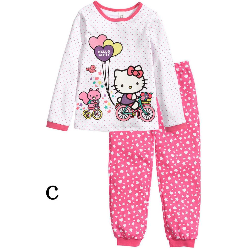 1fb5ad3f5 Children Pajamas Cotton Nightwear Superman Cartoon Loungewear Kids Boys  Girls Homewear Spring Autumn Sleepwear Free Drop Ship