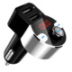 Wireless Car Kit Bluetooth Handsfree FM Transmitter MP3 Player Dual USB Charger